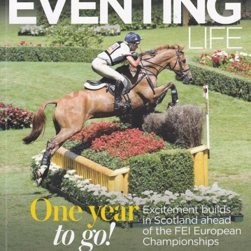 Izzy Taylor British Eventing Life cover