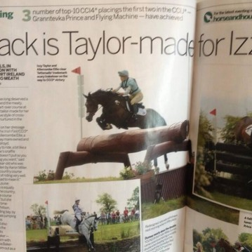Izzy Taylor Tattersalls Horse and Hound