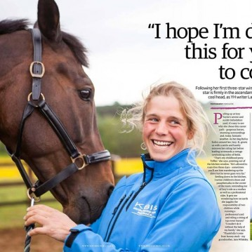Izzy Taylor Your Horse interview article