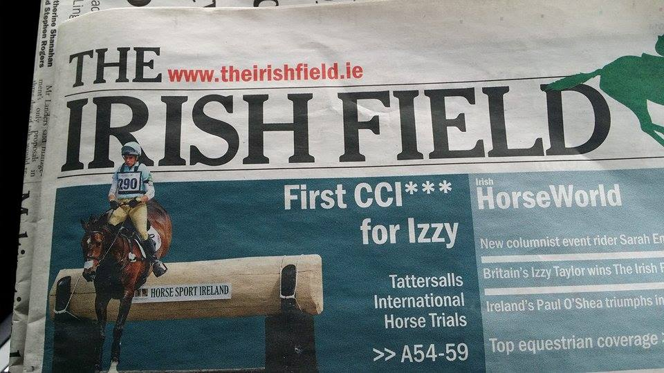 IzzyIrishNewspaperWinsTatts2014