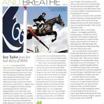 British Equestrian November:December 2014