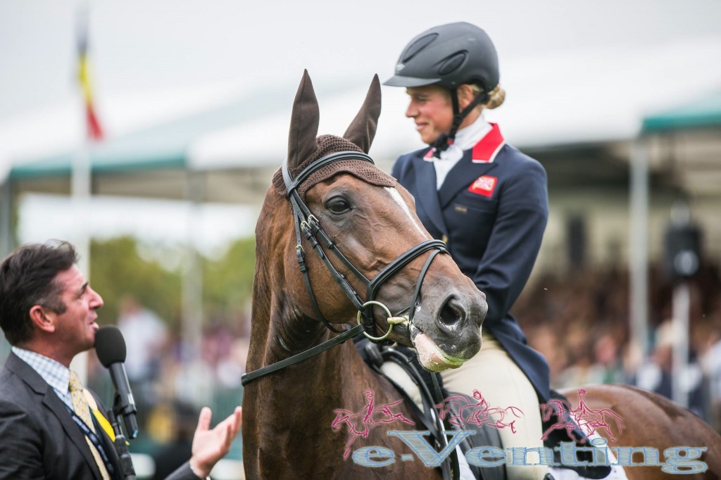 5th In The British Eventing Rider Rankings 2014 Team