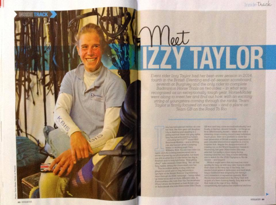 H&R Winter 2014 Meet Izzy Taylor