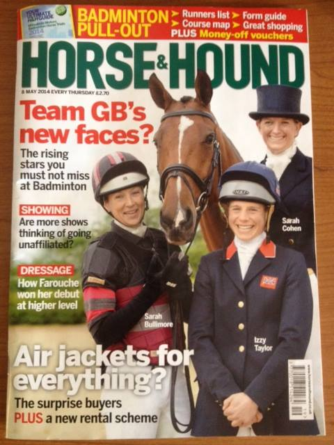 Izzy Taylor Horse and Hound cover