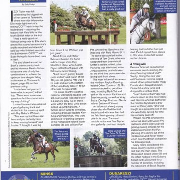 Izzy Taylor Tattersalls win Eventing