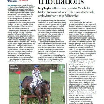 British Equestrian Diary July:August 2014
