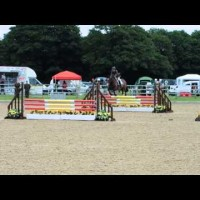 Extreme II, Showjumping at Somerford Park BE100