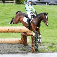 Izzy Taylor at Floors Castle Horse Trials