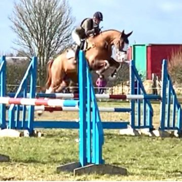 Junior Z eventing at Oasby 2020
